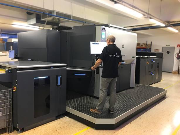 HP instala la prensa digital HP Indigo 12000 entre los servicios de Printhaus