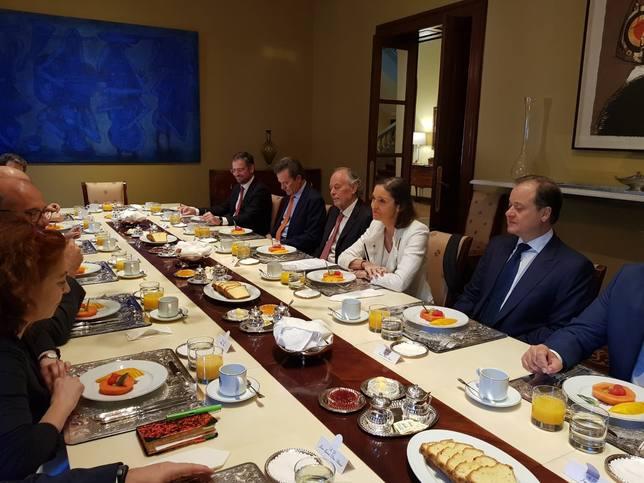 Maroto alude a la seguridad jurídica y a las facilidades para atraer inversión extranjera a España