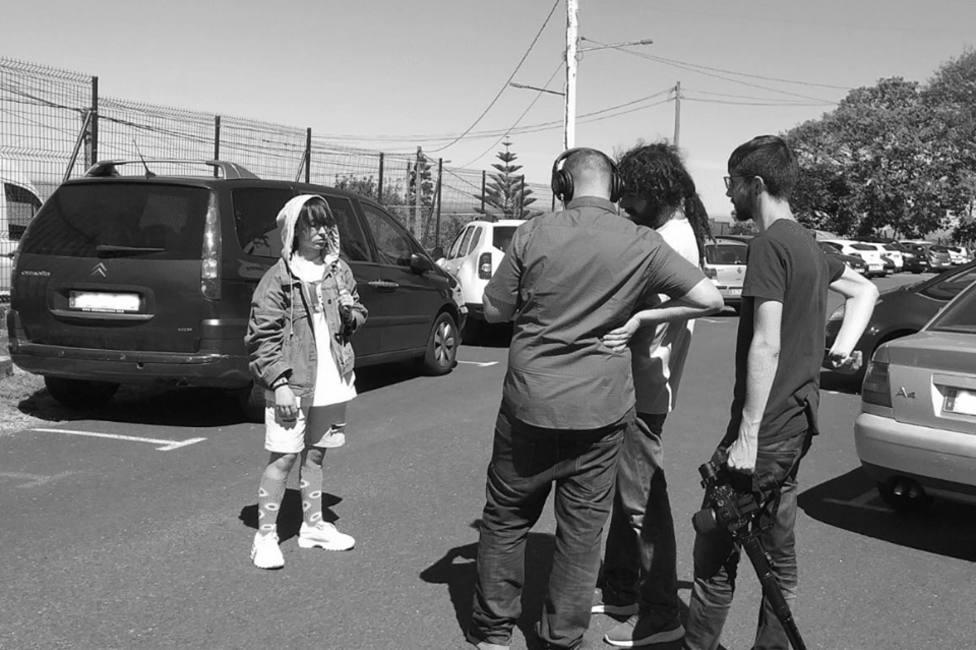 Imagen tomada durante el rodaje del corto realizado en paralelo a esta iniciativa - FOTO: Diputación