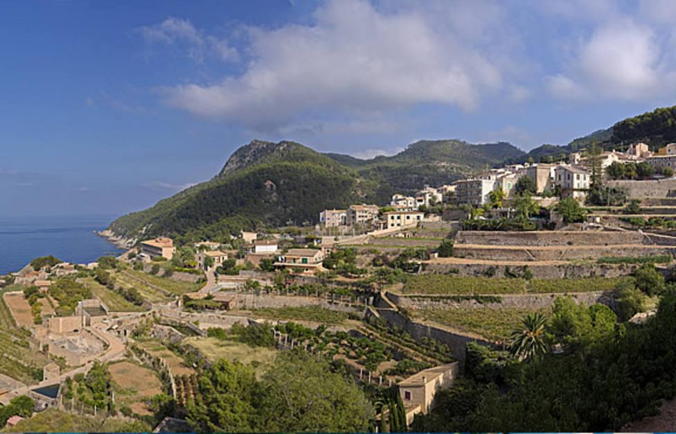 Bañalbufar, uno de los pueblos con más viñas de España