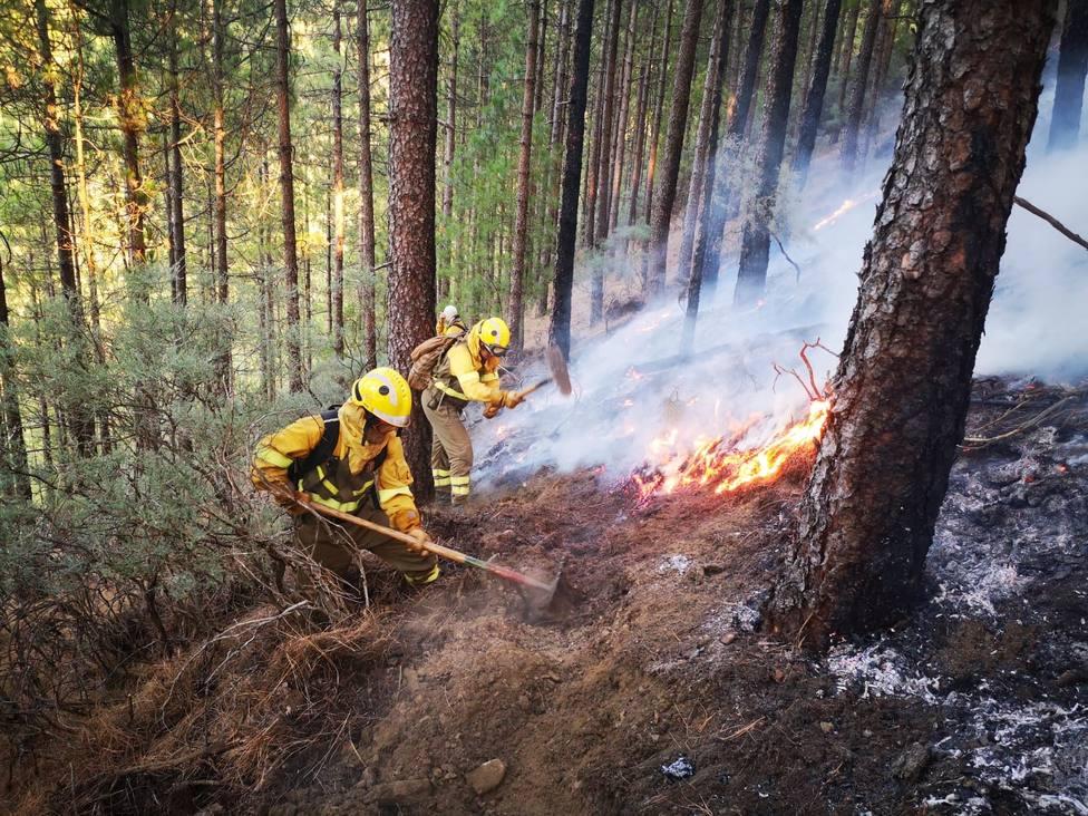 Los cabildos ofrecen su ayuda y colaboración para intentar sofocar el incendio de Gran Canaria