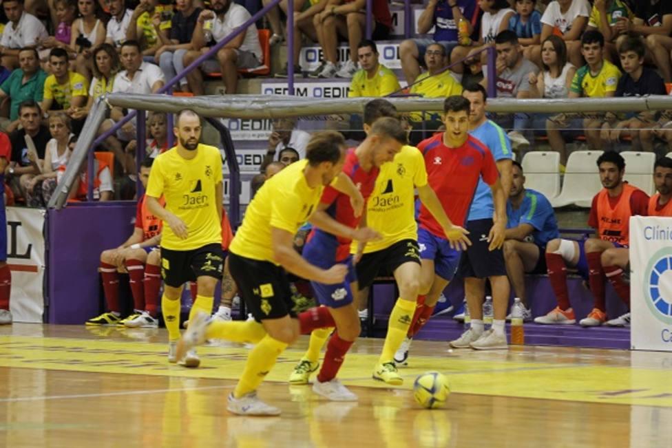 ElPozo Murcia FS empata en Jaén en el segundo test de la pretemporada (3-3)