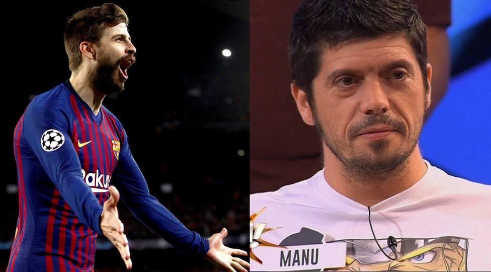 La curiosa coincidencia entre Piqué y Manu Zapata, de Los Lobos de ¡Boom!