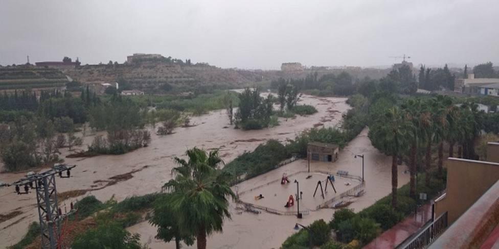Ayuntamiento de Archena habilita el pabellón para acoger a desalojados por las lluvias