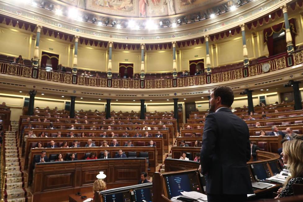 Sánchez hablará el miércoles en el Congreso sobre el bloqueo y Cataluña, en el que podría ser su último Pleno de control
