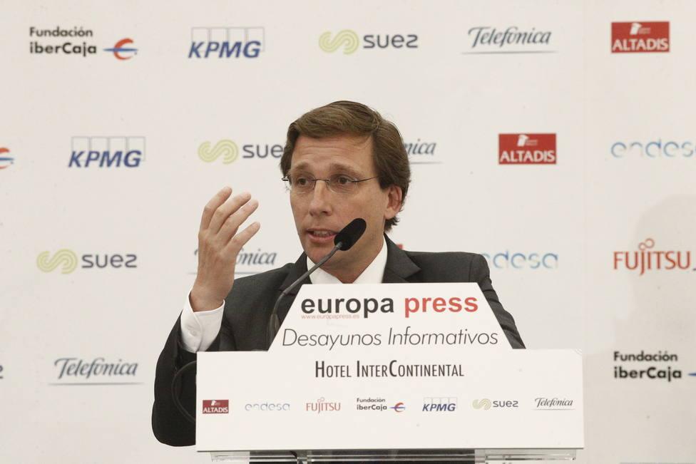 Líderes del PP arroparán este martes a Almeida en el Desayuno Informativo de Europa Press