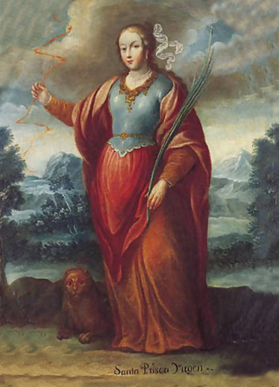Santa Priscila la niña que no tuvo inconveniente en derramar su sangre por Cristo