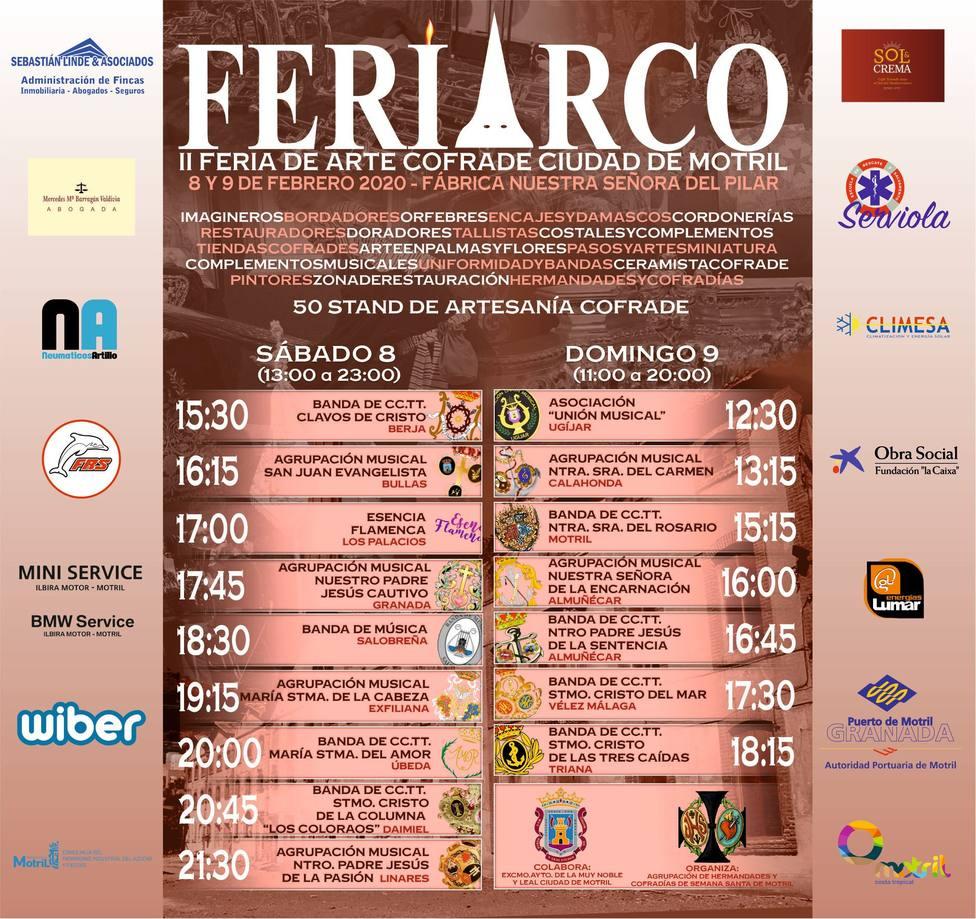 CARTEL FERIARCO 2.020 EN MOTRIL
