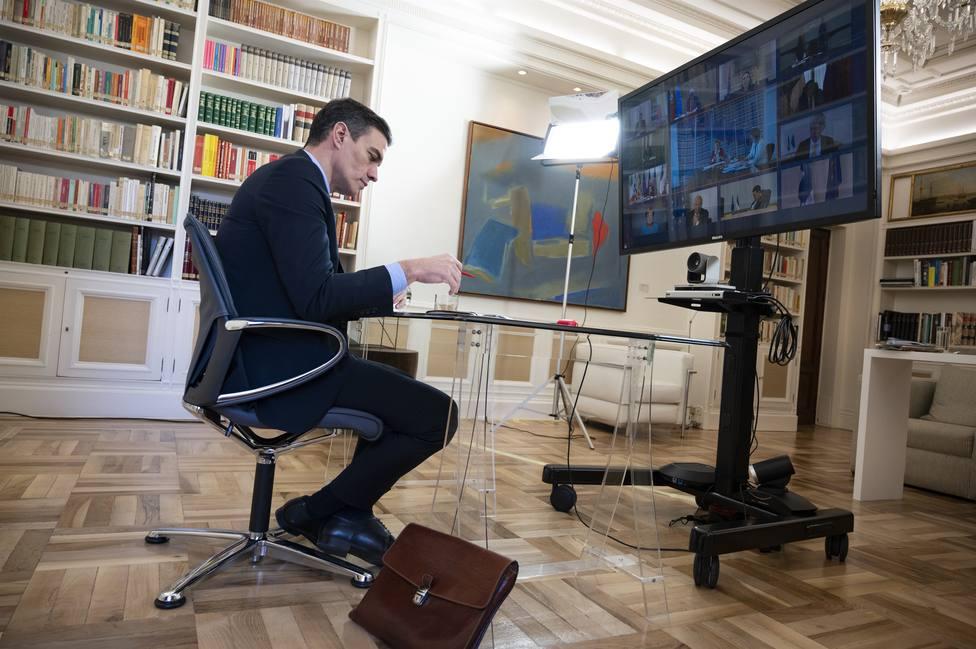 Sánchez pide a la UE una respuesta económica potente: Los errores de 2008 sembraron desafección