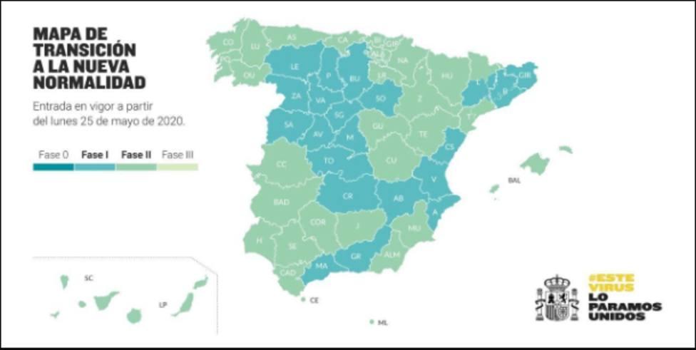 Cuenca y Guadalajara pasarán a la fase 2 de desescalada el próximo lunes