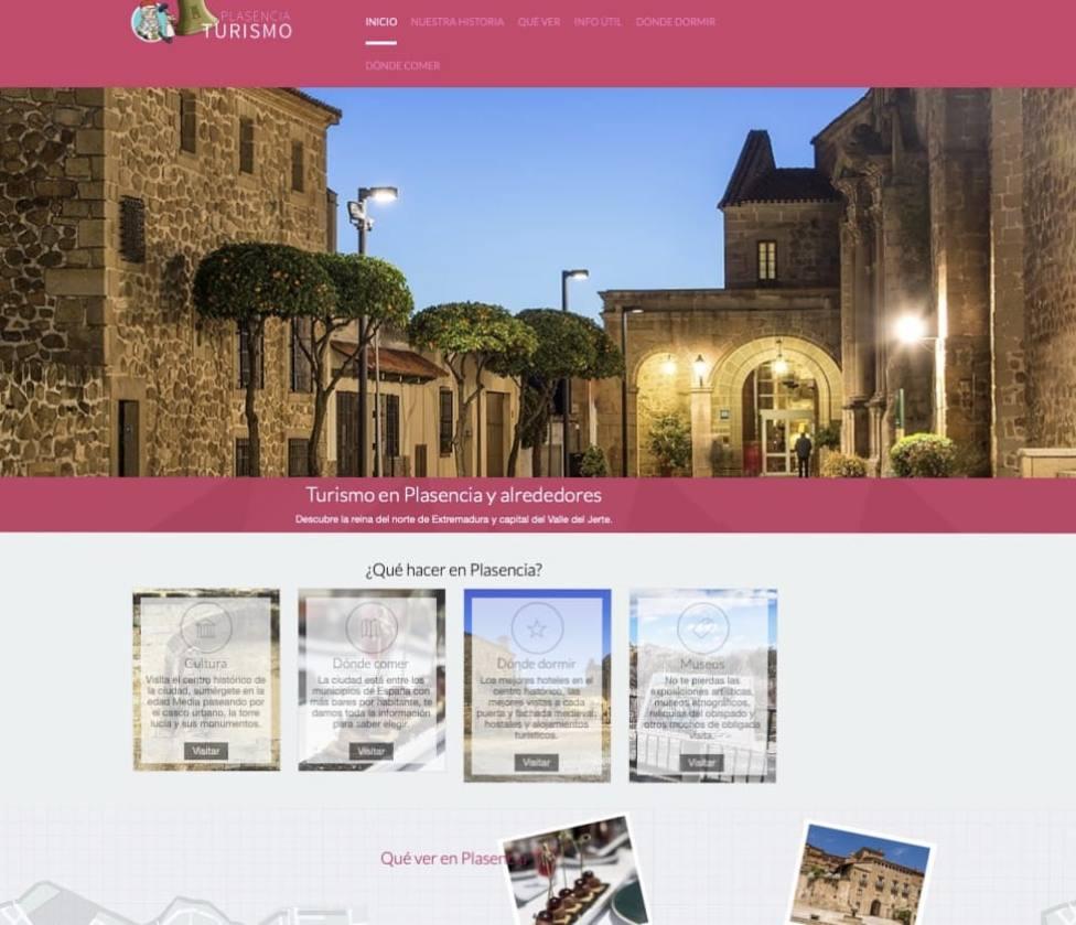 Nueva web de turismo