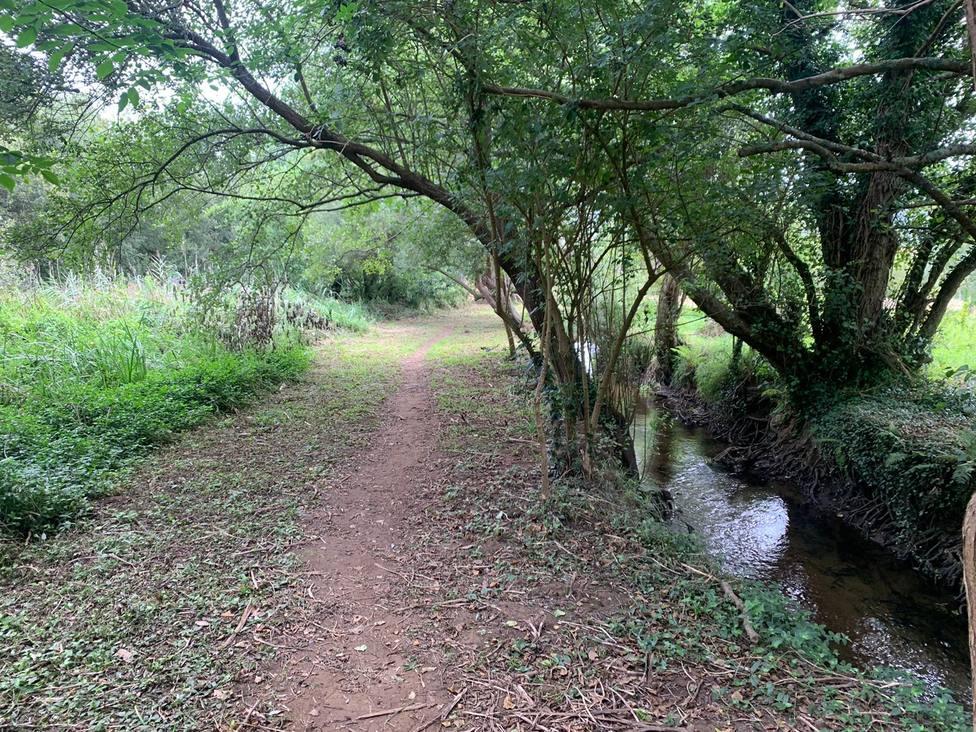 Río Condomiñas a su paso por Cedeira