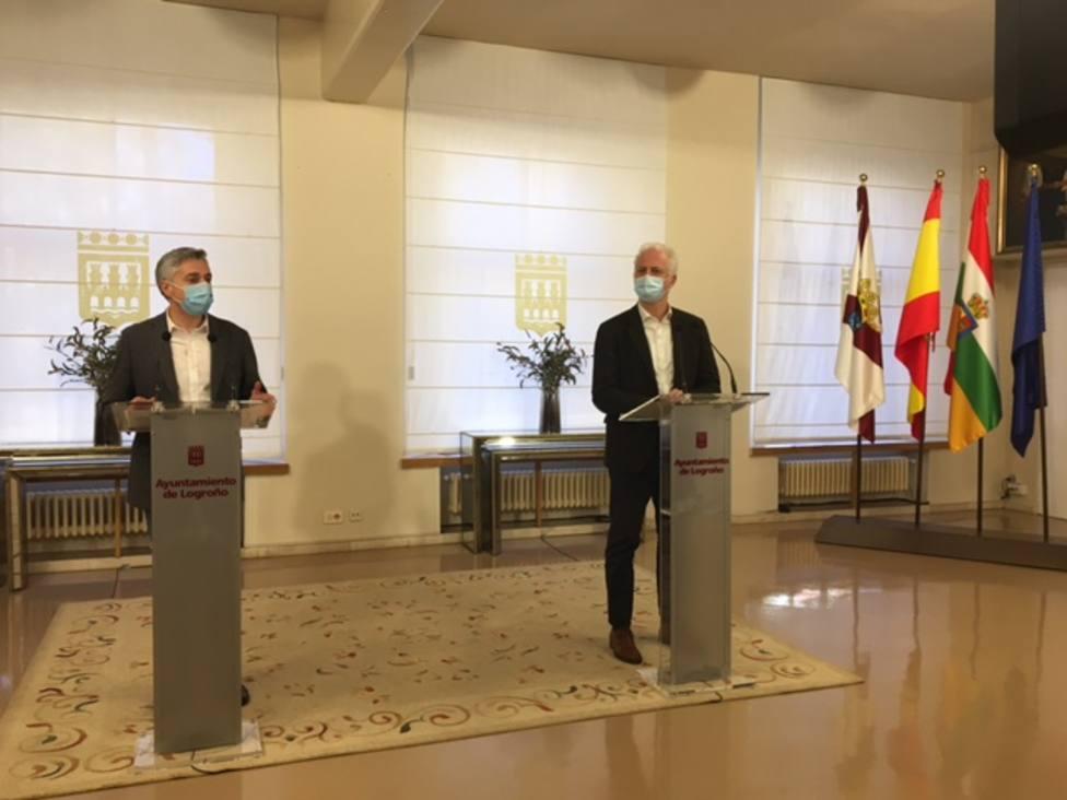 El PP denuncia el uso que el alcalde de Logroño ha dado al salón de retratos del Ayuntamiento