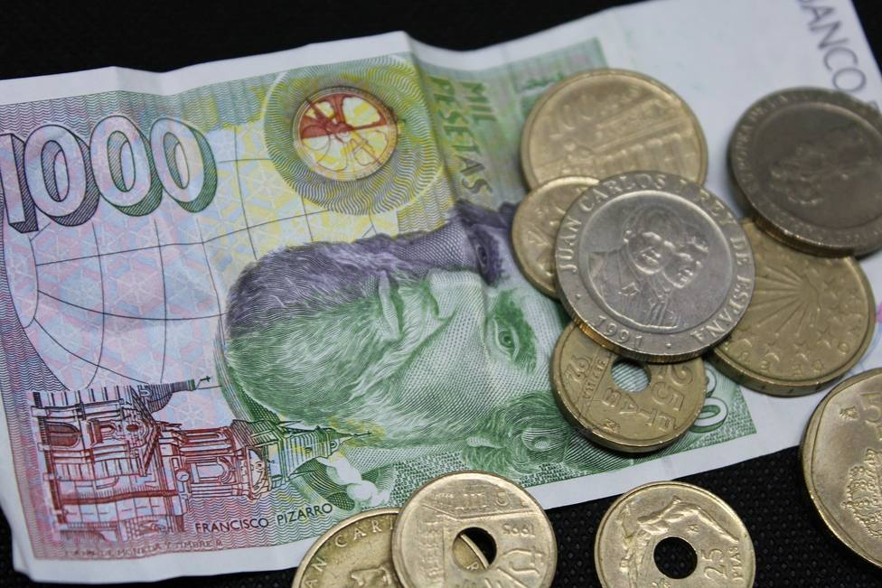 Sallarga mig any el canvi de pessetes a euros