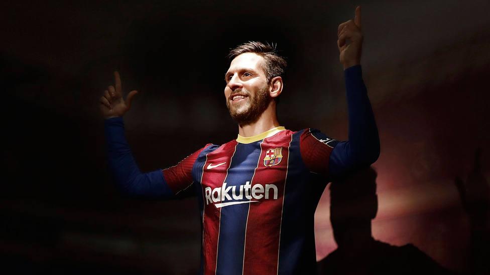 La figura del Leo Messi en el Museo de Cera de Barcelona. EFE
