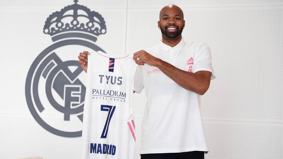 Alex Tyus llega al Real Madrid