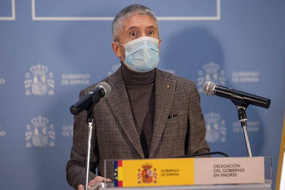 Marlaska descarta declarar a Madrid como zona catastrófica tras el temporal: No hay daños importantes