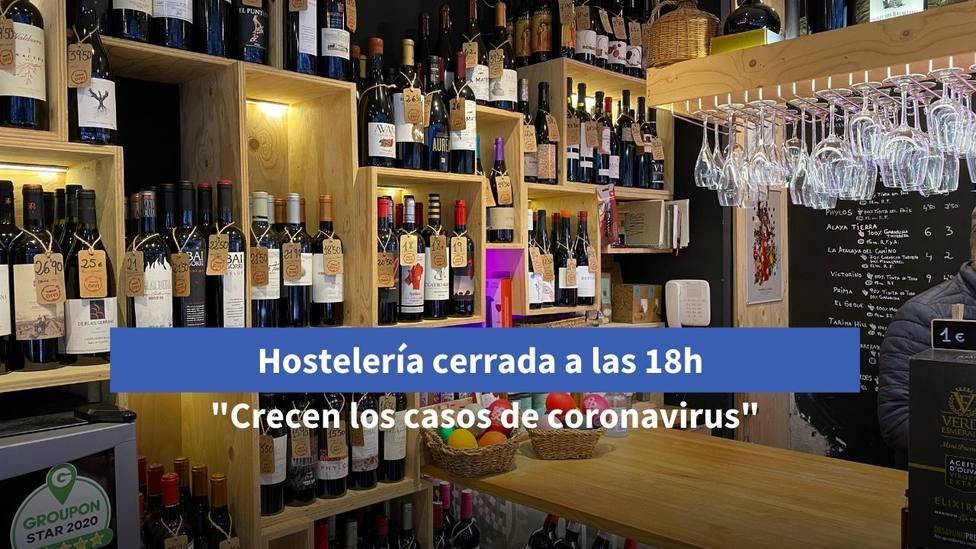 Hostelería cerrada a las 18 horas en Galicia
