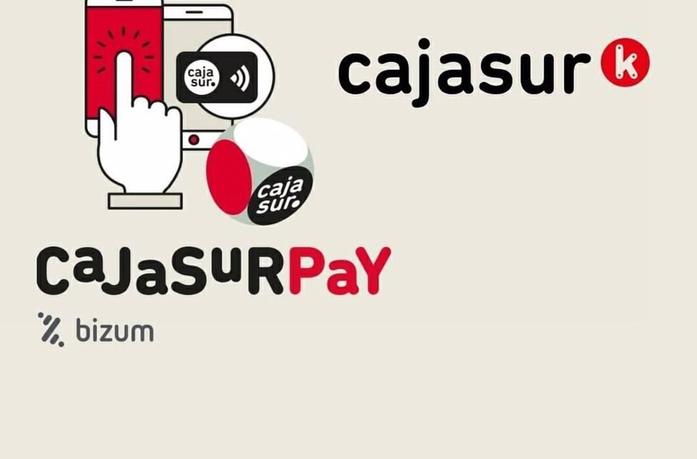 Cajasur habilita Bizum para una nueva funcionalidad: comprar y cobrar lotería