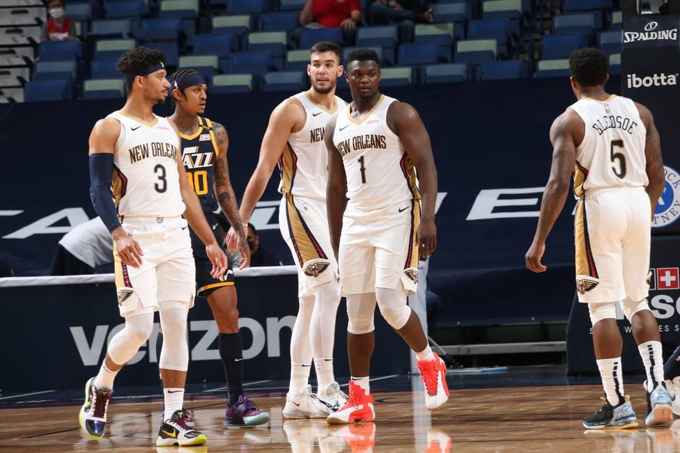 Los Pelicans de Willy Hernangómez derrotan a los Jazz