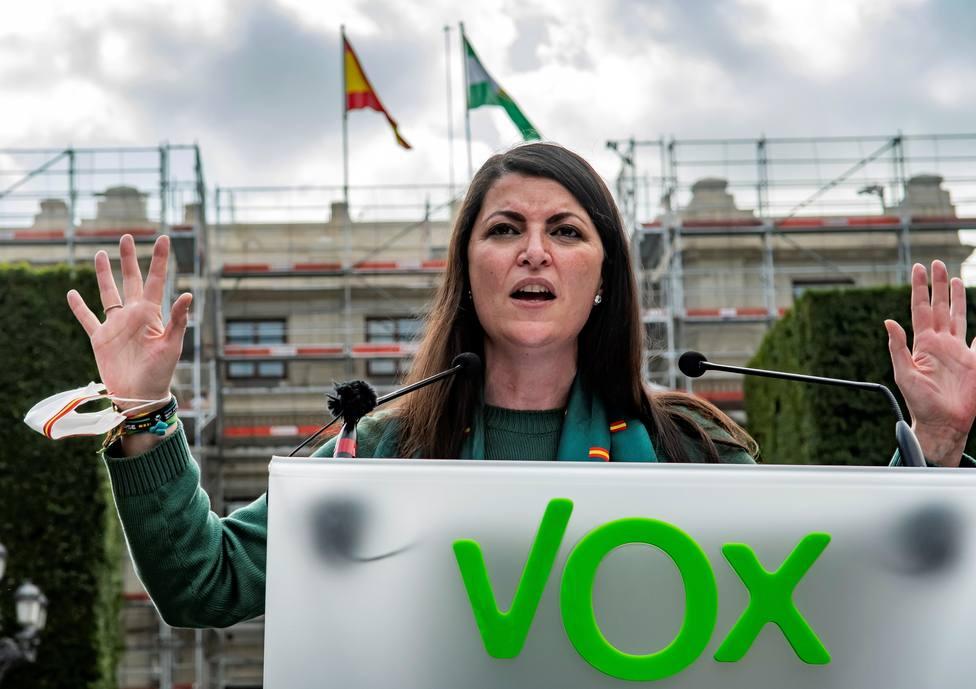 Acto de Vox en el Día de Andalucía