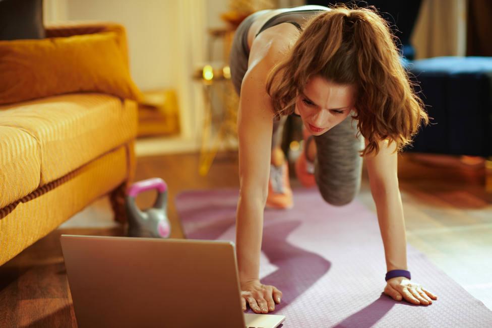 Un 43% de las personas han optado por realizar ejercicio a media mañana o tras cenar.