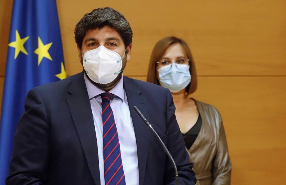 La jueza inadmite la denuncia interpuesta contra Fernando López Miras por cohecho