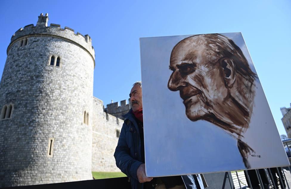 El detalle en el funeral del Duque de Edimburgo que rompe el corazón de los británicos: Desgarrador