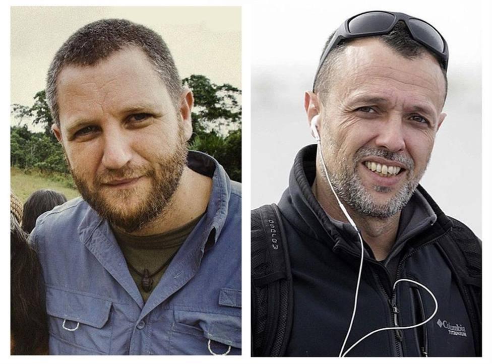 Los cuerpos de los periodistas David Beriain y Roberto Fraile serán repatriados en un vuelo de Defensa