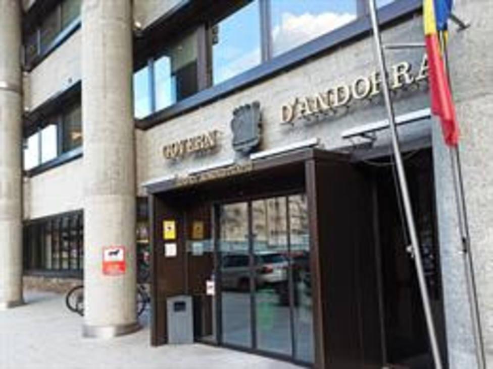 El edificio administrativo del Gobierno andorrano - EOG