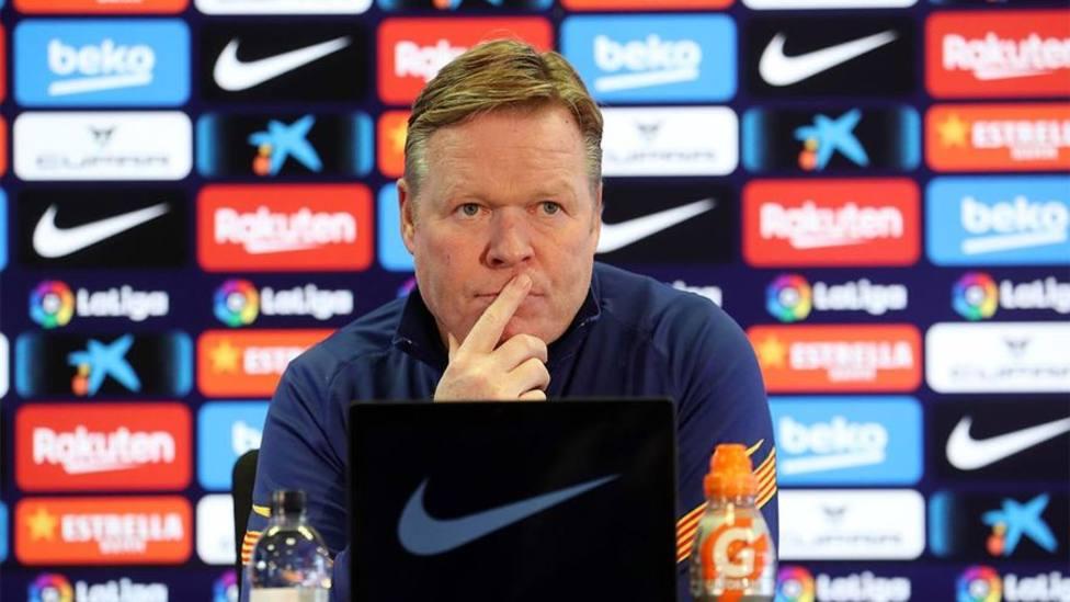 Koeman: Me veo como entrenador del Barça el año que viene
