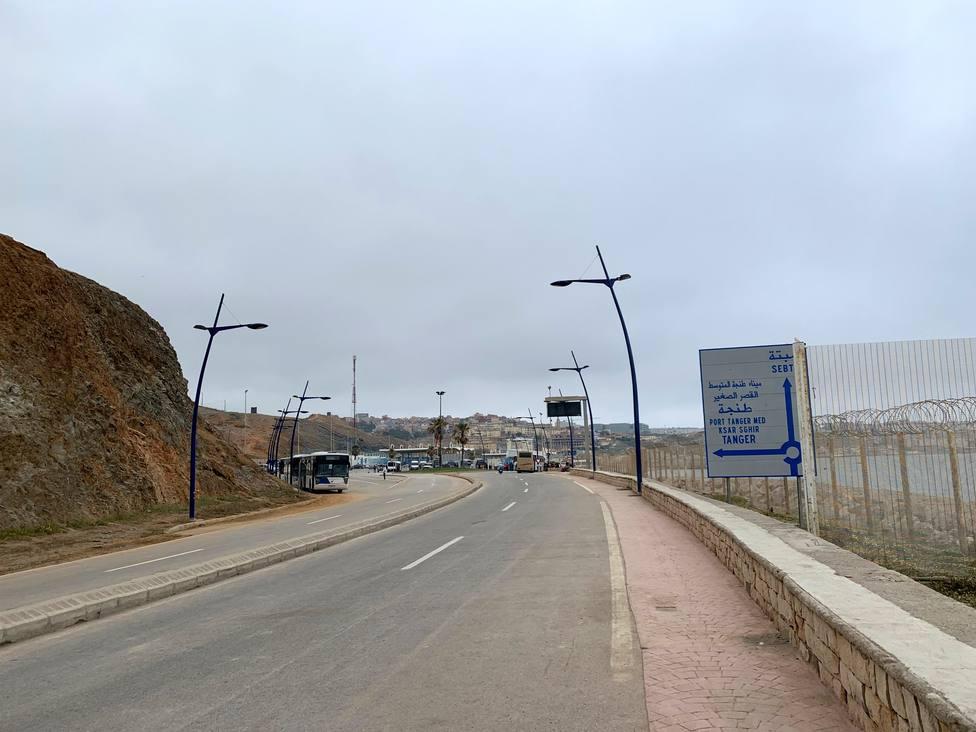 Paso fronterizo del Tarajal, Cueta