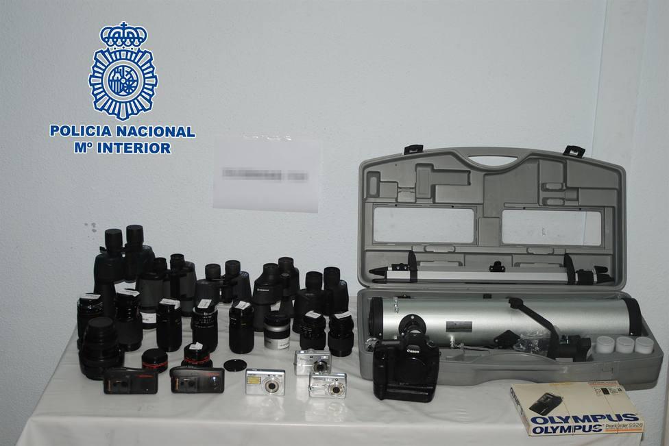 Detenidas dos personas por robo con fuerza en una tienda de electrónica de Alcázar de San Juan