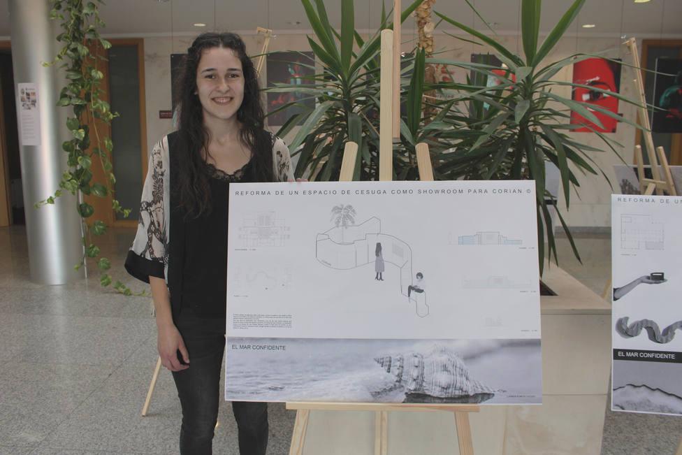 Carmen Romero Vizoso es ferrolana y alumna de CESUGA