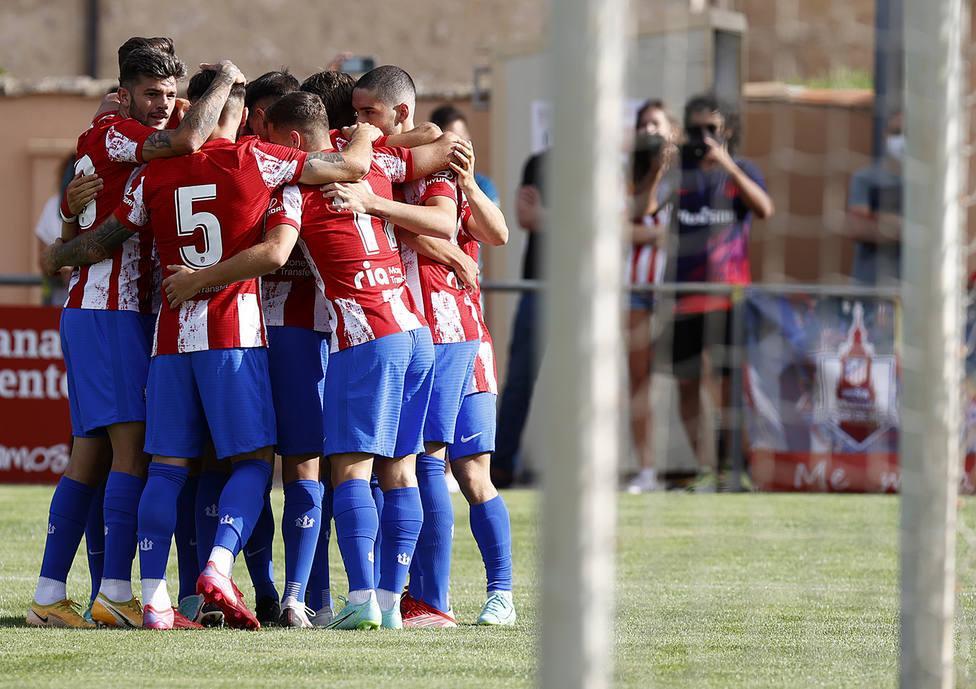 El Atlético de Madrid vence al Numancia, en el tradicional Memorial Jesús Gil.