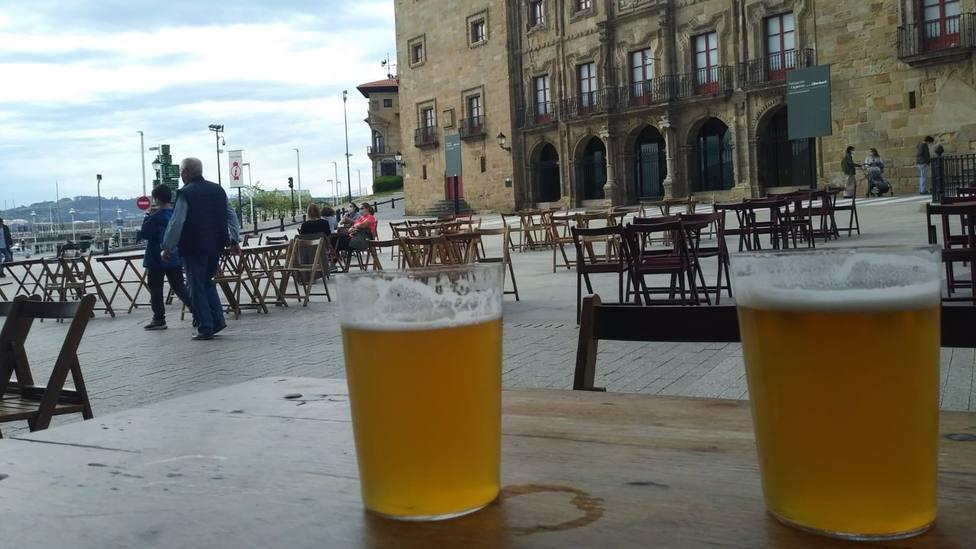 Terraza en Gijón