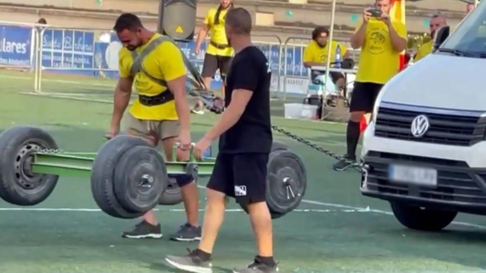 El salobreñero Juan Figueroa se proclama campeón de España de strongman