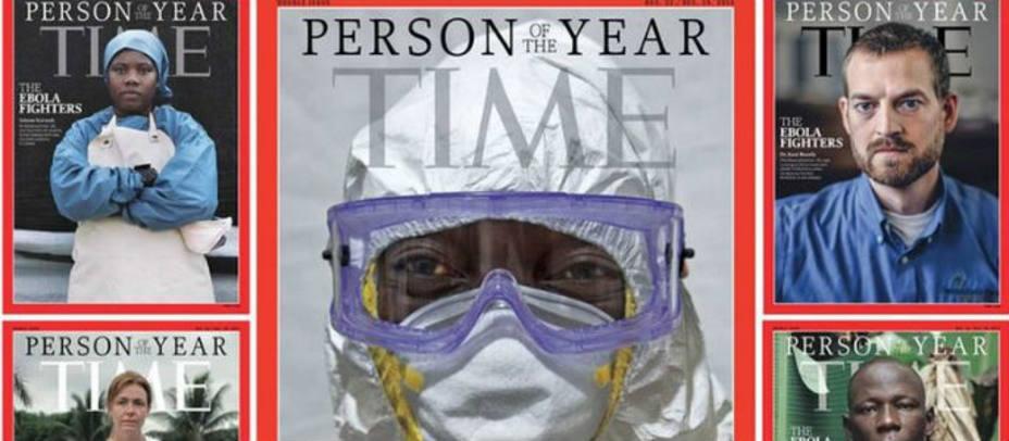 Portada revista Time. Time