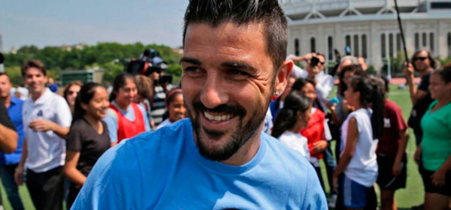 David Villa, jugador del New York City (@NYCFC)