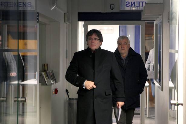Matamala, el confidente y empresario que siempre acompaña a Puigdemont