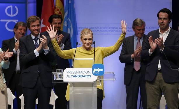 Cristina Cifuentes, candidata del PP a la Comunidad de Madrid en 2015. EFE