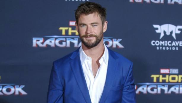 Chris Hemsworth durante el estreno de Thor Ragnarok