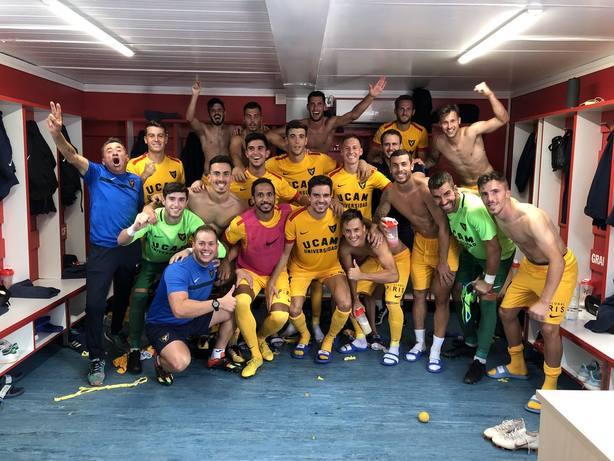 UCAM Murcia CF estrena triunfo ante el Recreativo Granada (0-1)
