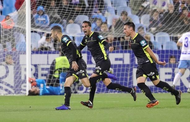 (Crónica) El Granada se pone líder en Zaragoza