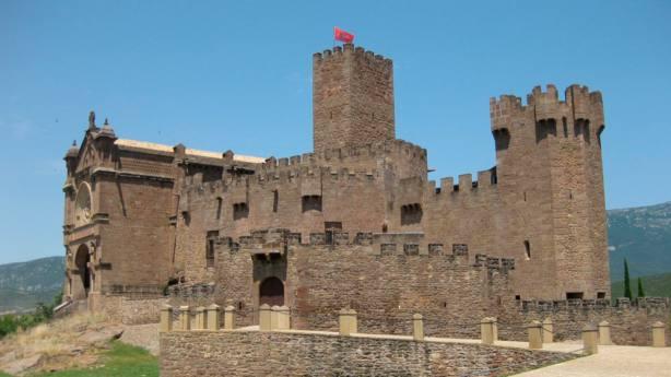 Castillo de Javier, en Navarra, lugar de nacimiento del santo