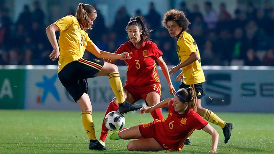 España y Béliga empataron 1-1 (@SeFutbol)