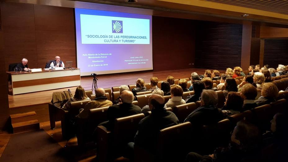Foto de archivo de una sesión anterior de Aula Aberta - FOTO: Diócesis de Mondoñedo-Ferrol