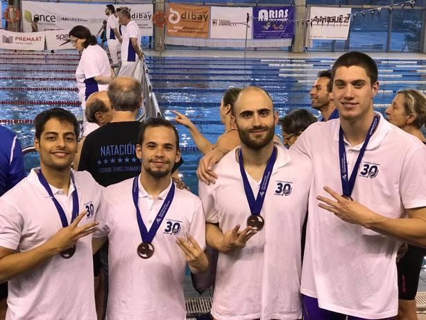 Nueve medallas para el CN Lorca en Pontevedra