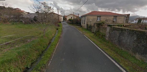 Camino do Mosteiro, en Pedroso, Narón