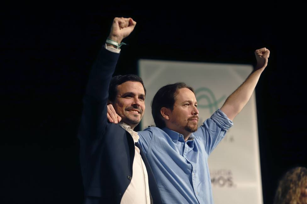 Las bases de IU apoyan con un 61% de los votos la alianza con Podemos para las elecciones generales